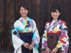 東近江市レインボー大使の岡治さん(左)と池内さん