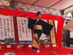 日本舞踊 鶴亀の披露