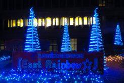 点灯は2019年2月15日まで