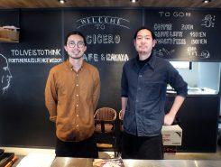 木田さん(左)と岩崎さん(右)