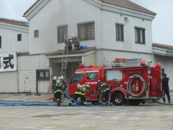 消防活動訓練