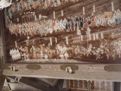 中世の日野祭の渡御の様子が描かれた絵馬