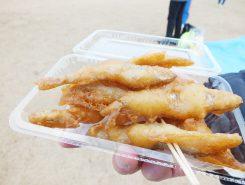 琵琶湖のわかさぎの天ぷら