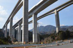 亀山西JCTの安楽川橋