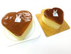 ハート型 チーズケーキ
