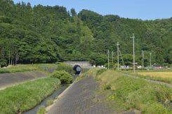 1980年完成した現在の西野水道