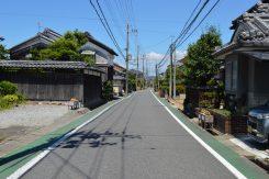 東海道の町並みが残る湖南市平松