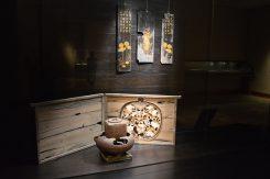 鈍翁別邸での「天平時代の茶会」を再現