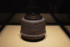 徳川家康が湯を沸かしたと伝えられる「宮嶋釜」