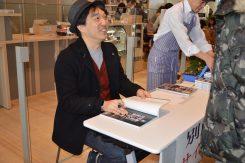 写真家 別所隆弘さんのサイン会