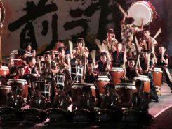 地元の小・中・高校生を中心とした「甲賀忍玉太鼓団」