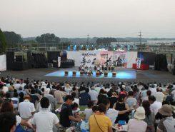 甲賀の夏の恒例イベント「和太鼓サウンド夢の森」