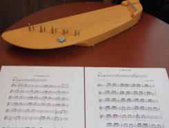 こちらは5弦カンテレの楽譜