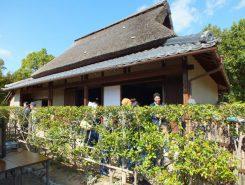 栗東歴史民俗博物館の敷地内にある旧中島家住宅