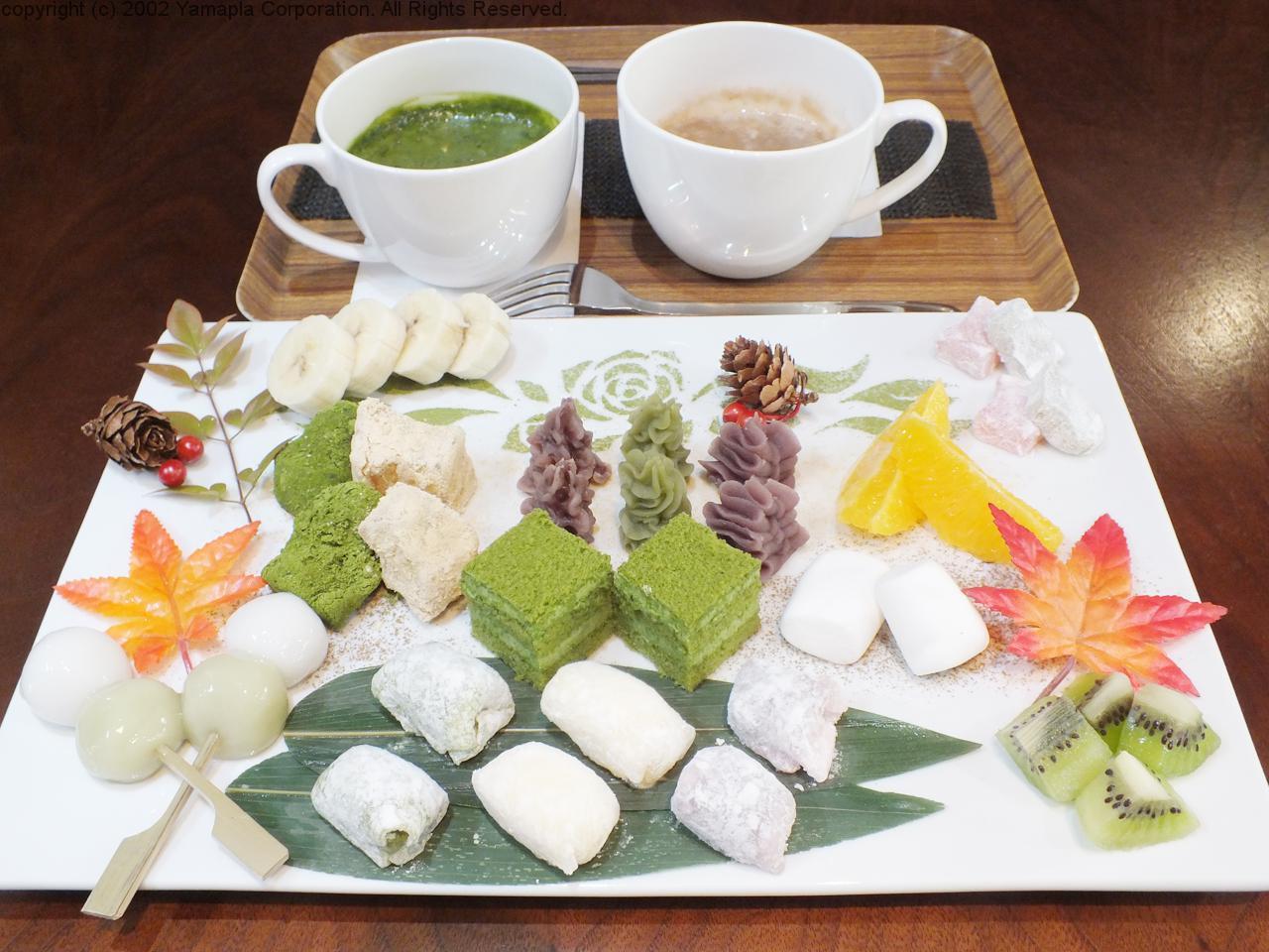 多彩な抹茶メニューが楽しめる和風カフェ   滋賀ガイド!