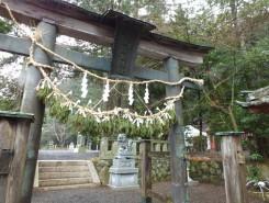 甲賀市水口町にある川田神社