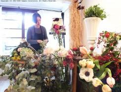 フラワーアーティストmure(ミュール)さんのお店が尾賀商店に期間限定でオープン