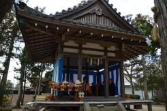 13:00から苗村神社の宮司さんが来られ神事が始まった