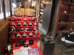 旧市街地で開催中の「近江八幡節句人形めぐり」の会場にもなっている