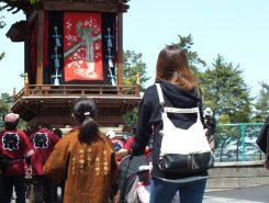 「田町・片町」の曳山は2番目の大きさ!