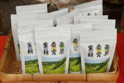 上等な茶葉も、ここではお得に買えるのがうれしい!