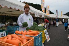 信楽の黄瀬(きのせ)地域で採れた新鮮野菜