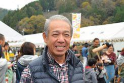 「毎年開催しているので、ぜひ来て下さい」と信楽町茶業協会会長の植田浩士さん