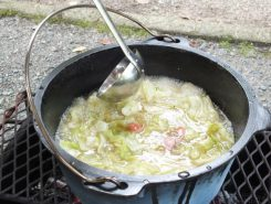 あっという間にスープは完成!