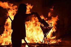 焼き物づくりや生活に欠かせない「火」への感謝を・・・