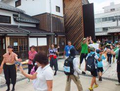 「最後まで頑張って!」15kmコースは子どもの参加も多かった