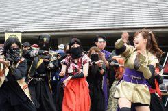 最後に参加者で観光地PR動画の撮影。まずは全員でダンスの練習を