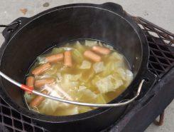 スープも完成!いい香り!