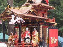 一番車山 北町。旭山組の子ども歌舞伎役者