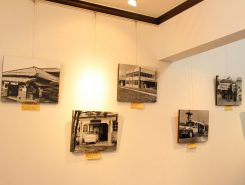 南市昔写真の展示