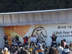 ステージはダンスの発表で盛り上がる