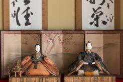 近江八幡築300年の旧西川家住宅内(国重要文化財)