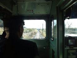 列車は三重県伊賀市に向かっています