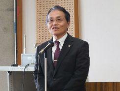 会場には甲賀市の副市長も駆けつけた。「車椅子レクダンスをもっと市民に知っていただく必要性を感じています」