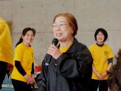 車椅子レクダンス協会甲南支部の藤丸さん。13年前から活動を続けている