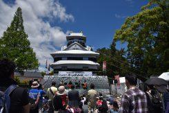この日は15,000人もの人がイベントに訪れた