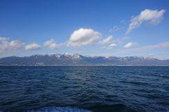 海と見まがうほど広い琵琶湖