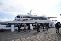 長浜港に到着。長浜観光を楽しもう