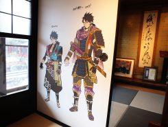 彦根出身のイラストレーター・ホマ蔵さんが描いた高虎のイラストは甲良町公認のキャラクターになっている