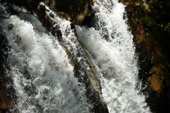 迫力ある水しぶき