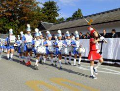 城東小学校マーチングバンド