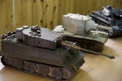 重厚な戦車