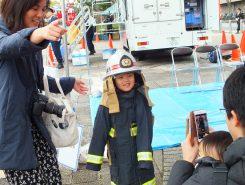 消防士体験コーナー