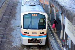 貴生川駅にて