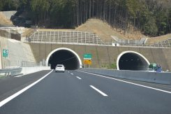 全長約4キロの野登(ののぼり)トンネル