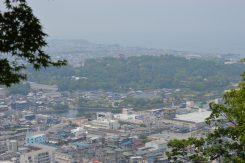 眼下に望む彦根城